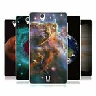 HEAD CASE OUTER SPACE GEL BACK CASE COVER FOR SONY XPERIA Z C6603