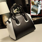 Ladies Synthetic Leather Style Crossbody Shoulder Satchel Bag Women Tote Handbag