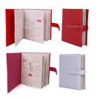 Folding 42 Pairs Earrings / Ear Studs PU Leather Book Jewelry Display Organiser
