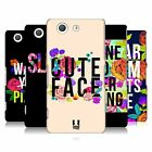 HEAD CASE DESIGNS FLOWERY STATEMENTS CASE COVER FOR SONY XPERIA Z3 COMPACT D5803