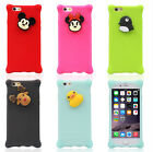 Cartoon Model Hot Sale Silicone case iPhone cases Back Cover for Iphone 5/5s/6
