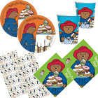 Paddington Bear Birthday Party Christening Tableware, Plates, Cups, Napkins!!