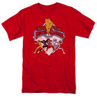 Power Rangers Mighty Morphin Retro Licensed Adult Shirt S-3XL