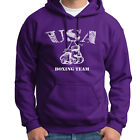 USA BOXING TEAM Trainer Sparring T-shirt Boxer Gloves Gym Hoodie Sweatshirt