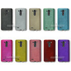 Brushed Silicone TPU Gel pure Case Skin Cover for LG G3 D850 for AT&T+ LCD Film