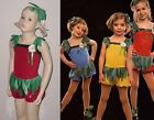 TUTTI FRUITI SHELF ELF wHAT Ice Skating CHRISTMAS Dance Costume Child Small & XS