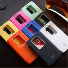 New Quick Window View Flip Case Cover for LG Optimus G2 D802