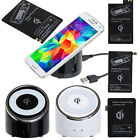 Qi Wireless Charger Charging Pad For Samsung Galaxy S5 S4 S3 Note3 + Receiver