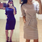 Fashion Women Sexy Party Cocktail Dress Lacework Slim Clubwear Dress Vogue