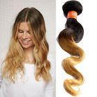 "Indian Virgin Remy Hair Weave Weft 10""-30"" Human Hair Extensions Wave 1Bundle"