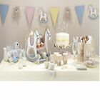 Rock-a-Bye Baby Shower Christening Party Tableware, Plates, Cups & Napkins etc