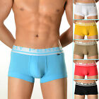 95% Cotton Comfy Underwear Men's Sexy Boxer Trunks Hipster Shorts Underpants New