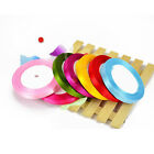 "New 10mm 3/8"" 25 yards satin ribbon wedding craft sewing decorations many colors"