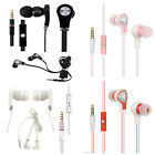 For LG Revere 3 VN170 Luxmo Hands Free Microphone Headset 3.5mm Jack Earbuds