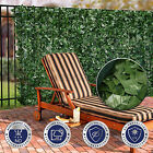 "39"" (h) Faux Ivy Leaf Privacy Fence Screen Decor Panels Windscreen Patio Garden"