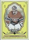 09-10 UD CHAMP'S MONTREAL CANADIENS GREEN - RED - YELLOW U-PICK FROM LIST