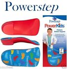 Powerstep PowerKids Orthotic 3/4 Length Insole Insert Toddler Youth Child Kids