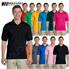 NEW Gildan Men's DryBlend Moisture Wicking Jersey Polo Shirt S-XL R-G880
