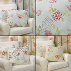 "BIRDCAGE FLORAL CHIC BUTTERFLY CUSHION COVER CASE 100% COTTON 43 x 43cm 17 ""x17"""