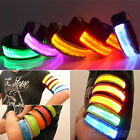Top Quality LED Safety Reflective Belt Strap Arm Band Armband For Running Sports
