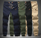 Stylsih Mens Joggers Sweat Pants Jogging Dance Tracksuit Bottoms Slim Trousers