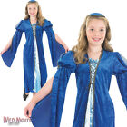 GIRLS MERCHANTS DAUGHTER MEDIEVAL TUDOR FANCY DRESS COSTUME