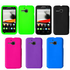 For Alcatel One Touch Evolve 5020T Cover Silicone Rubber Soft Gel Case
