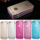 1PC Ultra-thin Aluminum Metal Case Back Cover Skin Fr Apple iphone 5 5s 6 6 plus