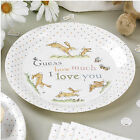 Guess How Much I Love You Baby Shower Christening Party Tableware Plates, Cups.
