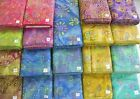 DREAMCATCHER BATIKS 100% cotton fabric flavor of India swirls florals 1 yd x 44""