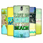 HEAD CASE DESIGNS SUMMER SNAPSHOTS SERIES 1 HARD BACK CASE FOR ONEPLUS ONE