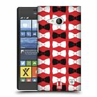 HEAD CASE DESIGNS RIBBON PATTERNS HARD BACK CASE FOR NOKIA LUMIA 735