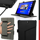 PU Leather Skin Case for Sony Xperia Z3 Tablet Compact Folio Cover + Sleep Wake