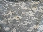 Military camo camouflage fabric US ACU digital 100% nylon or cotton 1y FREE SHIP