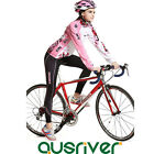 Women Bike Bicycle Cycling Long Sleeve Anti UV  Clothes Jersey Pants Padded Suit