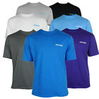 Mens Location Pack Of 3 Crew Neck Assorted Colours Tee T-shirt Top Cotton Fabric