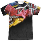 Power Rangers Dino Charge Big Zord All Over Sublimation Poly Adult Shirt S-3XL