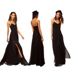 New Sexy Womens Bodycon Slim Tulle Long Dress Cocktail Club Evening Party Dress