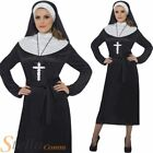 Ladies Nun Habit Fancy Dress Costume Hen Party Holy Sisiter Outfit Size 8-18