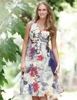 Bravissimo Sleeveless Floral Pleat Detail Dress in Multi Floral Color (23)
