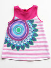 Desigual Illinois Baby Girls Dress Sleeveless Cotton Sizes 6M-24M NEW $29 NWT