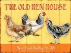 New The Old Hen House Rare Breeds Metal Tin Sign