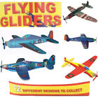 Flying Jet Gliders Fun Kids Party Bag Fillers FIGHTER PLANES Toys Children' Loot