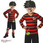 FANCY DRESS COSTUME ~ BOYS BOOK WEEK BEANO DENNIS THE MENACE AGES 5-10 YEARS