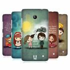 HEAD CASE DESIGNS CUTE EMO LOVE HARD BACK CASE FOR NOKIA LUMIA 635