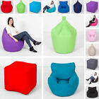 100% Cotton Giant XXL XL L Adult Childrens Kids Bean Bag Beanbag With Filling