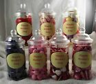 Mother's Day Sweets in Victorian Jars with front label 300 grams Various types