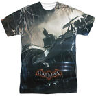 Batman Arkham Knight Into The Night All Over Sublimation Licensed Adult T Shirt