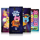 HEAD CASE DESIGNS CATS IN SPACE HARD BACK CASE FOR SONY XPERIA C3 D2533