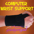 Sml Med Lge Left or Right Carpal Tunnel Relief Computer Use Padded Wrist Support